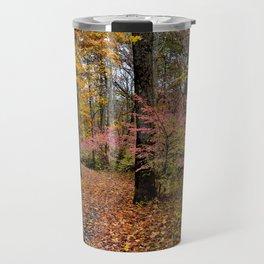 Pathway thru the Fall Travel Mug