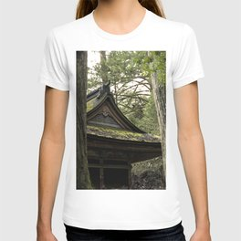 Shrine in Okunoin cemetery of Koyasan, Japan 001 T-shirt