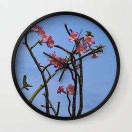 PINK SPLENDOUR Wall Clock