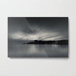 Sunset over Porto. Foz do Douro, Porto, Portugal. Metal Print
