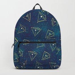 Tetrahedral Molecular Geometry Constellation Art Backpack