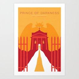 John Carpenter, Modern Master Series :: Prince of Darkness Art Print
