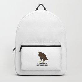 I Just Really Like Hawks Ok? Cute Hawk Birds Backpack