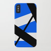 bands iPhone & iPod Cases featuring Bands 1 Retro stripes by Brian Raggatt