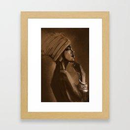 Afro Beauty Framed Art Print