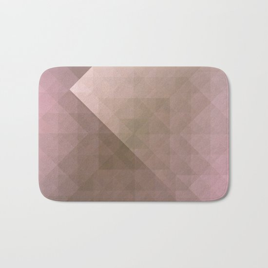 Blush Folded Star Bath Mat