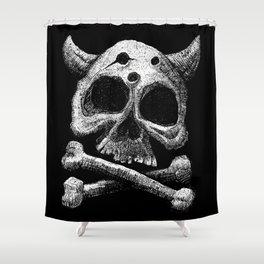 The Skull od Death Shower Curtain