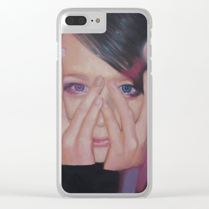 Fleeting Youth Clear iPhone Case