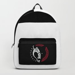 Skull Wolf Backpack