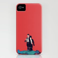 Over my dead body iPhone (4, 4s) Slim Case