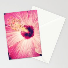 Pink Hibiscus Stationery Cards