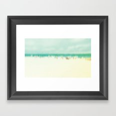 Riviera Beach 2011 Framed Art Print