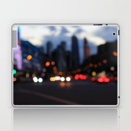 Streetlight bokeh Laptop & iPad Skin