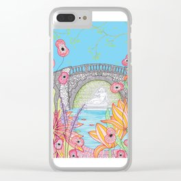 Sabrina in the Dingle Clear iPhone Case