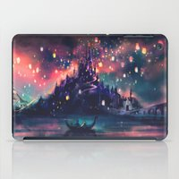 alice in wonderland iPad Cases featuring The Lights by Alice X. Zhang