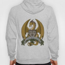 Clan Stonefire Crest - Gold Dragon Hoody