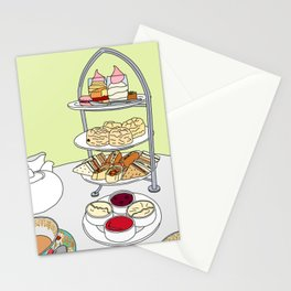 English Afternoon Tea Stationery Cards