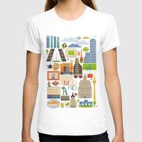 madrid T-shirts featuring Madrid  by La Merienda