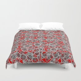 I Want to Ride My Bicycle Duvet Cover