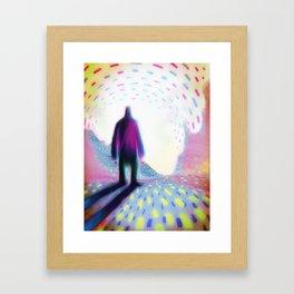WEST Framed Art Print