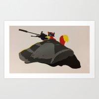 Sniper, No Sniping Art Print