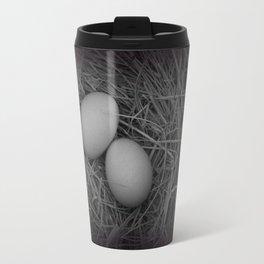 B&W Eggs Travel Mug