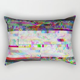 Accidentally Glitched Rectangular Pillow