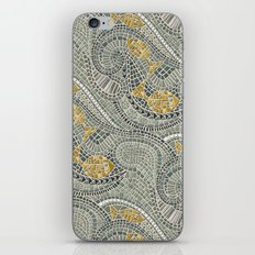 mosaic fish iPhone Skin