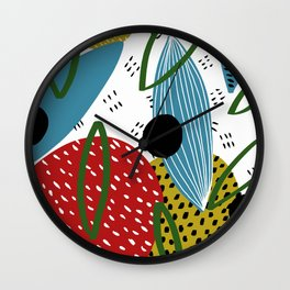 Pattern #22 Wall Clock
