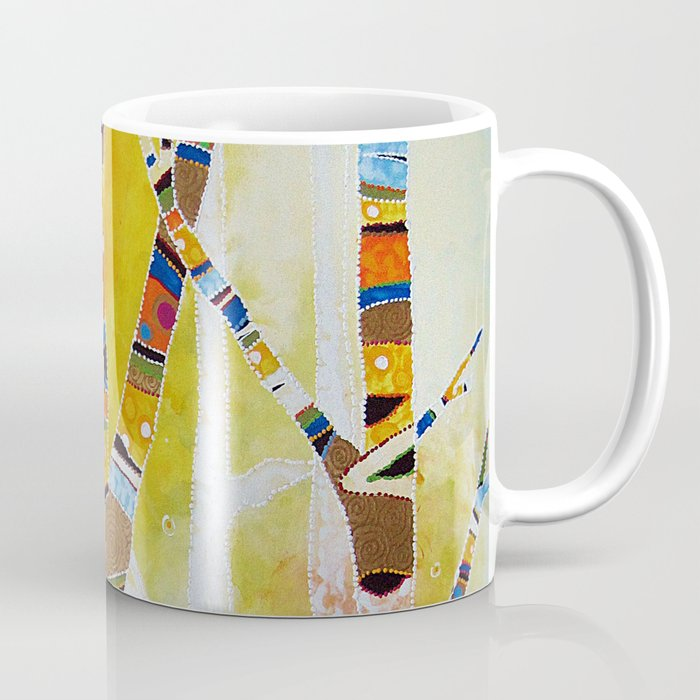 Raven Hanging the Sun Coffee Mug