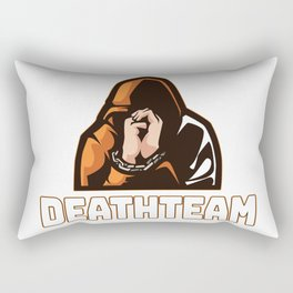 Death team mate Rectangular Pillow
