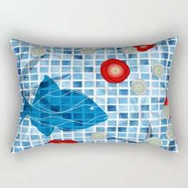 By The Pool !! Rectangular Pillow