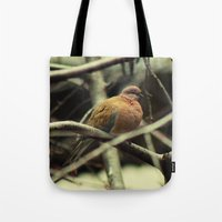pigeon Tote Bags featuring Pigeon by Zura