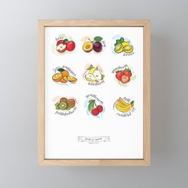 FRUITS OF THE SPIRIT Framed Mini Art Print