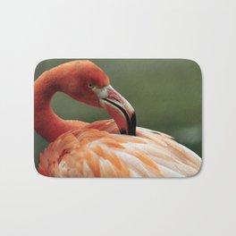 Caribbean Flamingo Bath Mat