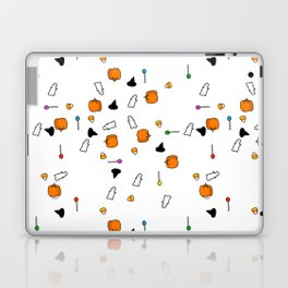 Ghosts, Candy Corn, and Pumpkins; Oh My! Laptop & iPad Skin