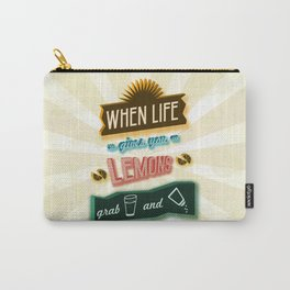 TYPOGRAPHY TEQUILA Carry-All Pouch