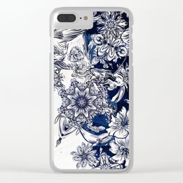 Settle Clear iPhone Case