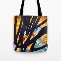 carousel Tote Bags featuring CAROUSEL by Brandon Neher
