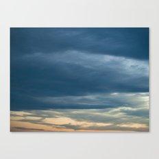 Deep Cerulean Sky Canvas Print