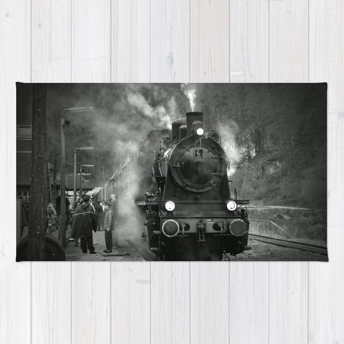 Steam Engine Rug