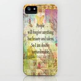 Whimsical Confidence humourous whimsical quote funny iPhone Case