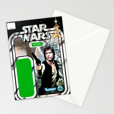 Han Solo Vintage Action Figure Card Stationery Cards