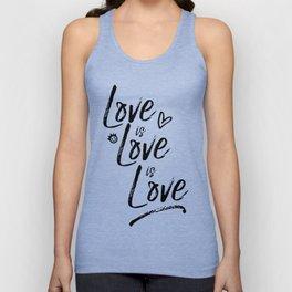 LOVE is LOVE is LOVE pt. II Unisex Tank Top
