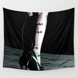 legs & projection Wall Tapestry