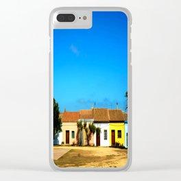Sardinian little village Clear iPhone Case