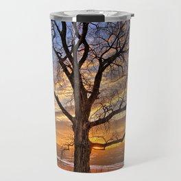 Winter Cottonwood Travel Mug
