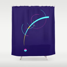 Separation and Unity Shower Curtain