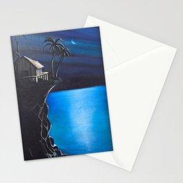 Hawaii night Stationery Cards