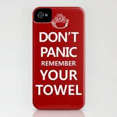 Don't Panic Slim Case iPhone (4, 4s)